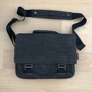 Grey Booq Messenger Bag with free laptop/iPad case